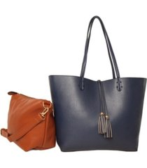 imoshion handbags premium vegan leather reversible tote