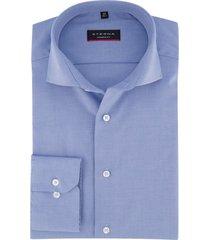 eterna modern fit overhemd blauw