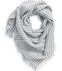women's madewell bandana scarf, size one size - blue