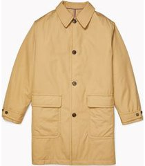 tommy hilfiger men's adaptive car coat beige beach - xl