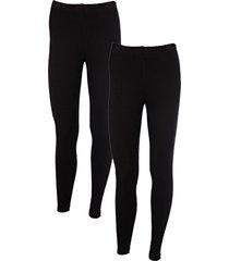leggings (pacco da 2) (nero) - bodyflirt