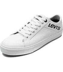 tenis blanco-negro levi's woodward l