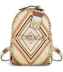 medium rockstud geometric backpack