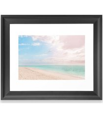 deny designs romantic beach art print, size one size - blue