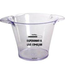 balde de gelo personalizado para live