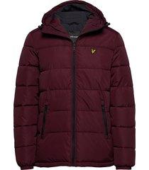 wadded jacket gevoerd jack rood lyle & scott