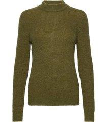 cora turtleneck pullover stickad tröja grön sparkz copenhagen