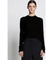 proenza schouler eco superfine merino sweater black l