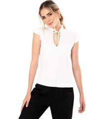blusa berlin blanco ragged pf11112195