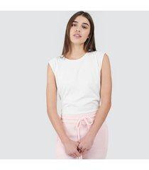camiseta mujer m/s unicolor