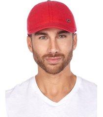 gorra beisbolera quest color rojo