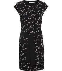 inwear 30104592 camilleiw saffron dress happy ditsy black