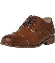 zapato formal café corona