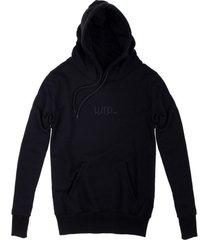 bluza hoodie classic black