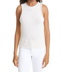 a.l.c. brixton sleeveless sweater, size x-small in opal at nordstrom