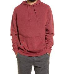 lira clothing vintage wash unisex sweatshirt, size x-small - burgundy