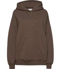 holzweiler hoodie sweat hoodie trui beige holzweiler