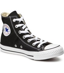 all star canvas hi höga sneakers svart converse