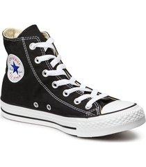 all star hi red höga sneakers svart converse