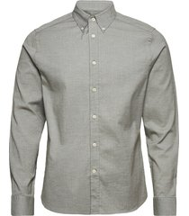 stretch oxford slim shirt overhemd casual groen j. lindeberg