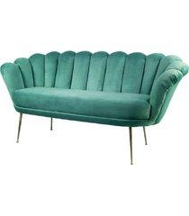 sofa miętowa dwuosobowa tapicerowany lux-4