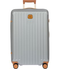 men's bric's capri 2.0 27-inch expandable rolling suitcase - grey