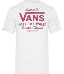 camiseta masculina vans holder sn st classic - cinza