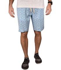 men's geo print hybrid windjammer shorts