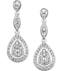eliot danori raindrop crystal earrings, created for macy's