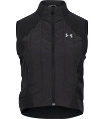 cg reactor run vest vests padded vests zwart under armour