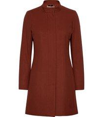 levannaiw crew coat yllerock rock brun inwear