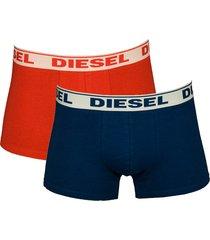 diesel boxershort shawn 2pak rood-blauw