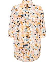 nubegonia shirt långärmad skjorta multi/mönstrad nümph