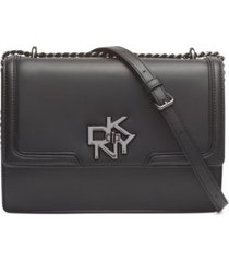 dkny catherine leather shoulder bag