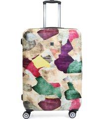 maleta marmol multicolor 28 f