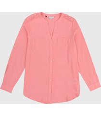 blusa rosa tommy hilfiger