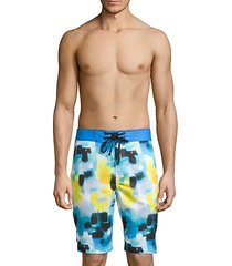 madeira printed swim shorts