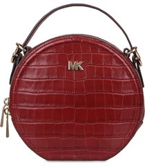 michael michael kors delaney croco-print leather crossbody bag