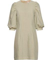ava dress kort klänning grön soft rebels