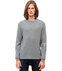 sweater cashmere gris calvin klein