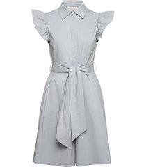 martha dress knälång klänning blå minus