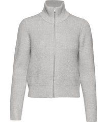 edwinnaiw cardigan gebreide trui cardigan grijs inwear