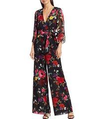 rowley floral jumpsuit
