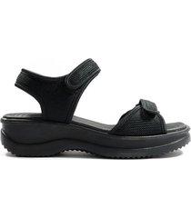 sandalia negra azaleia 320