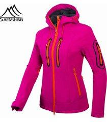 jacket women hiking waterproof windproof thermal