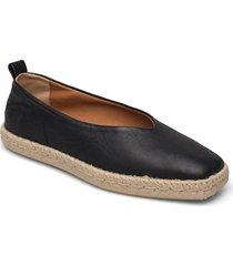 stb-palm ballerina l sandaletter expadrilles låga svart shoe the bear
