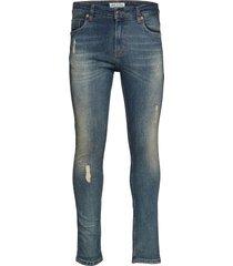 sicko - denim blue skinny jeans blå just junkies