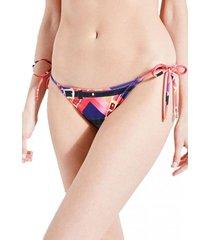 calzón bikini string brief multicolor guess