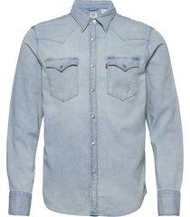 barstow western standard lw su skjorta casual blå levi´s men