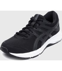 zapatilla gel-contend 6 negro asics
